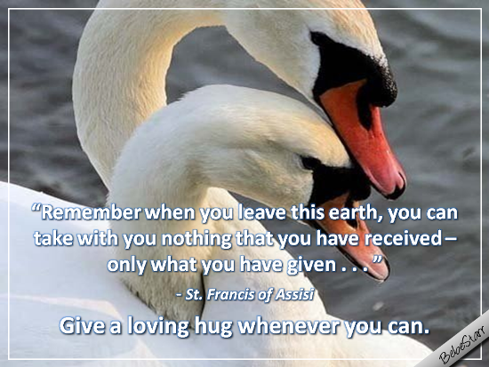 Give A Loving Hug.