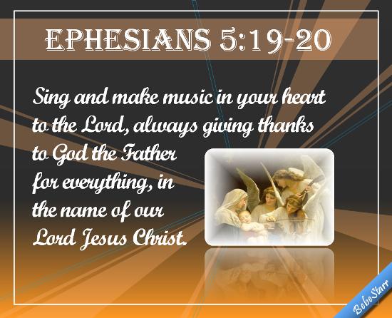 ephesians 5 19