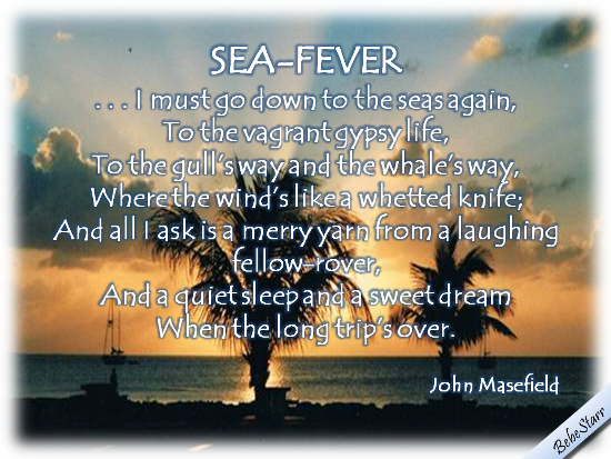 Sea-Fever By John Masefield.