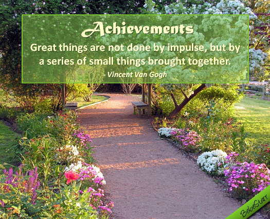 Quote About Achievements.