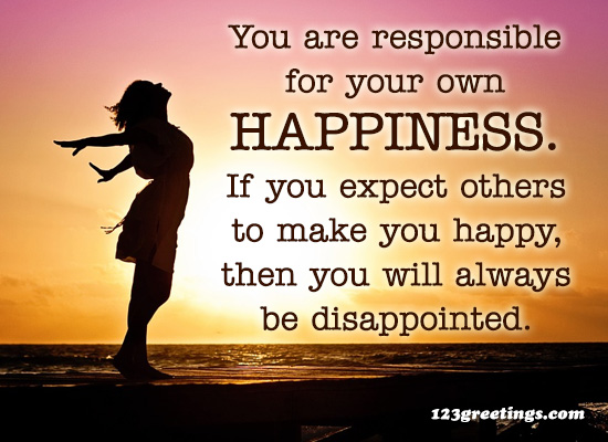 For Your Happiness...