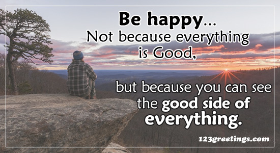 Be Happy For...