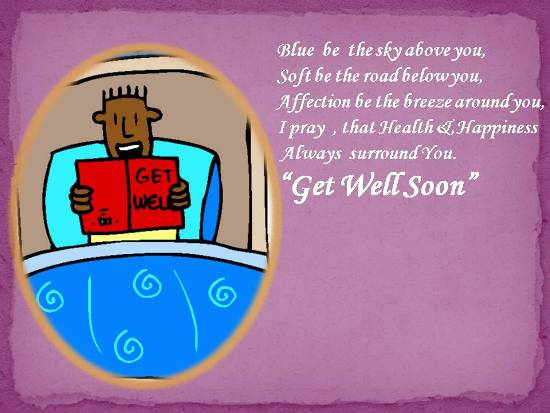 Get Well Card For Someone Dear To You.