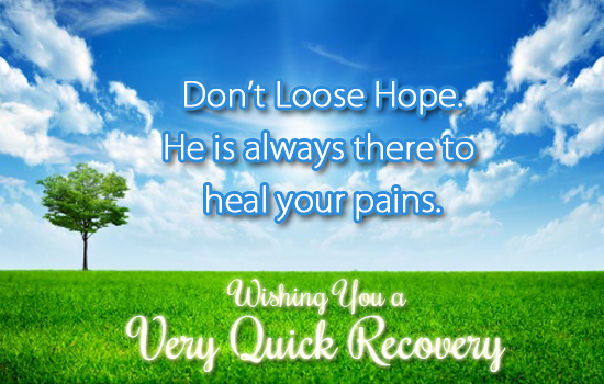 He Is Always There  To Heal U.