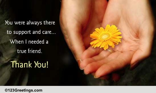 thank you for your support free support ecards greeting