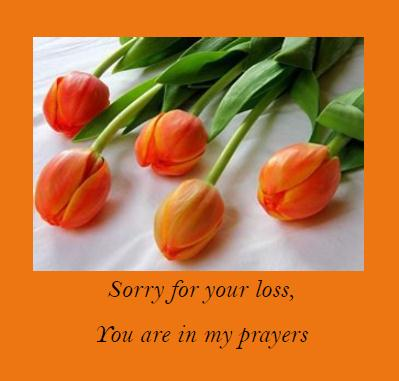 Prayers During Your Loss.