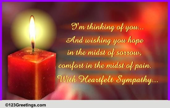 sympathy quotes due to loss quotesgram