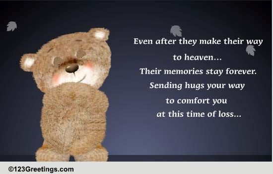 Empathy Card, Sending You a Hug, Big Hug Card, Thinking of ... |Hug Messages Sympathy
