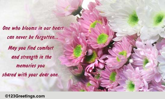 Heartfelt Sympathy Card... Free Sympathy & Condolences eCards | 123 ...
