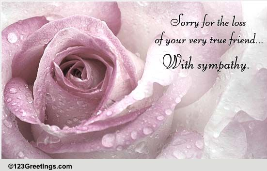 A Sympathy Message Free Sympathy Condolences eCards – Sympathy Message