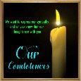 Our Condolences Ecard.
