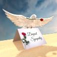 Home : Inspirational : Sympathy & Condolences - Deepest Sympathy Dove...