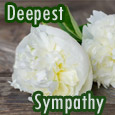 Home : Inspirational : Sympathy & Condolences - Our Deepest Sympathy!