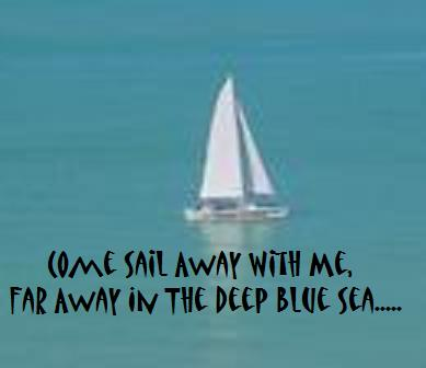 Come Sail Away With Me.