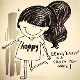 Home : Keep in Touch : Send a Smile - Be Happy.