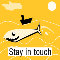Home : Keep in Touch : Stay in Touch Etc - Keep In Touch Funny Shark! Greeting Cards!