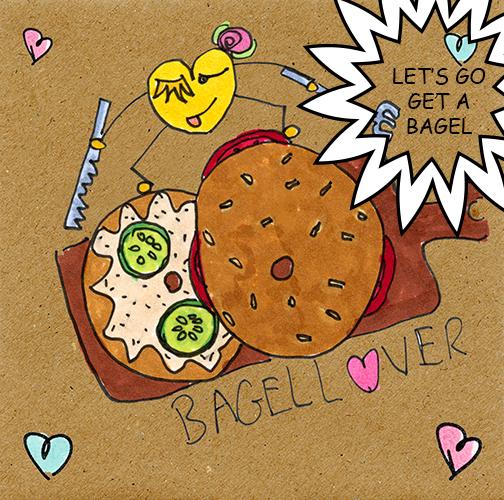 Bagel Lover.