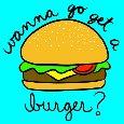Home : Invitations : Party Invitations - Get A Burger.