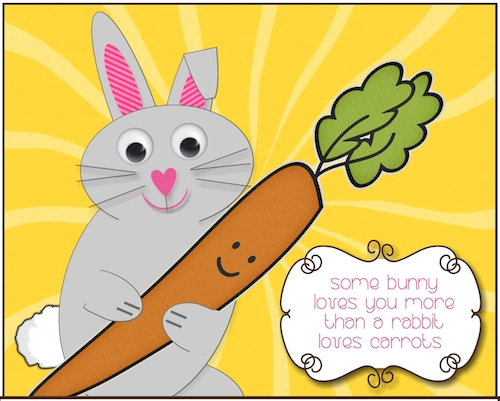 Some Bunny Loves You...