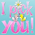 I Pick You.