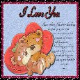 Home : Love : Cute Love Cards - Love Being In Your Arms...