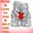 Hugs And Love For You...