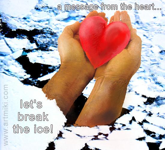 Breaking The Ice.