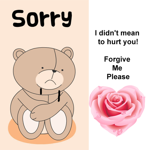 Really Sorry.