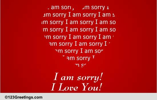 free i am sorry ecards greeting cards 123 greetings