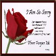 Home : Love : I Am Sorry - I Am So Sorry And I Mean It.