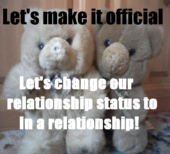 Official - In A Relationship.
