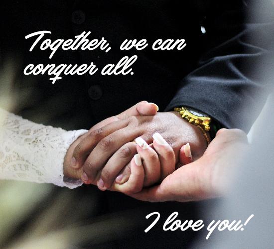 Forever Together.