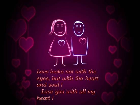 heartfelt message for a loved one free madly in love ecards 123