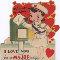 Vintage Romance Card.