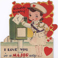 Vintage Romance Card.