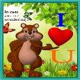 My Cute Love Ecard.