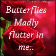 I Feel Butterflies Flutter...
