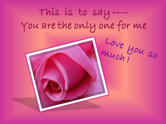 A Beautiful Rose For Your Beloved. Free I Love You eCards ...