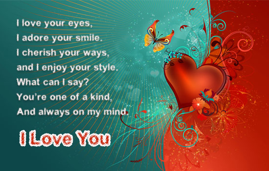 You Are Always Mine.. Free I Love You eCards, Greeting ...