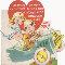 World War 2 Romance Card.