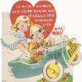 World War 2 Romance Card.