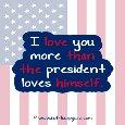 Presidential Love.