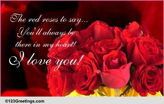 This One's For You! Free Roses eCards, Greeting Cards ...