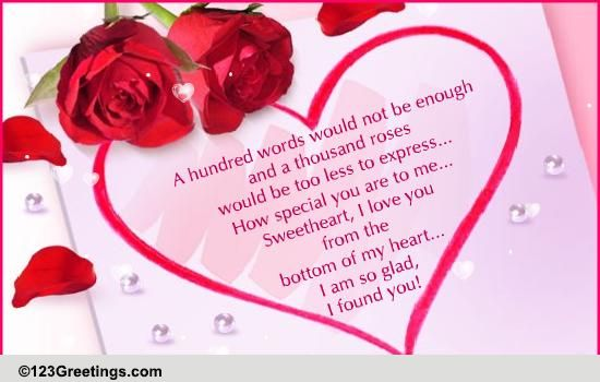 Sweet and romantic love poems for her to melt her heart messages
