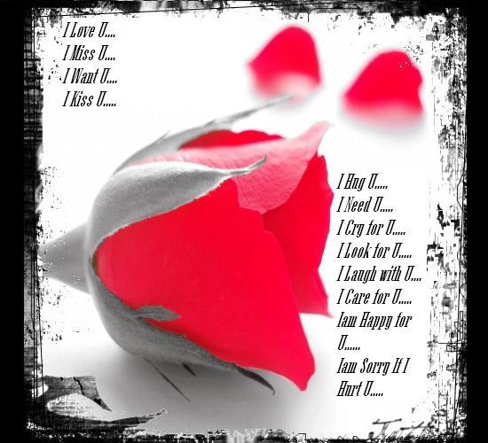 I Love U...