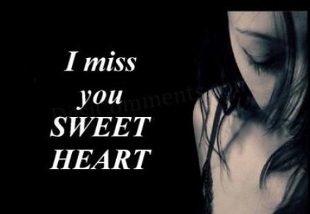 Sweetheart, I Miss U.
