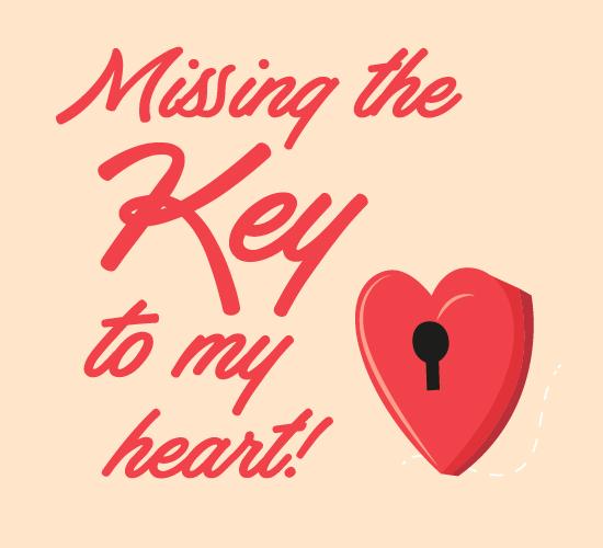 Missing Key.