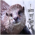 Home : Love : Missing Him - I Miss My Otter Half!