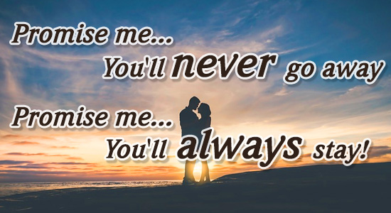 Promise Me.