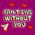 I Can`t Live Without You.